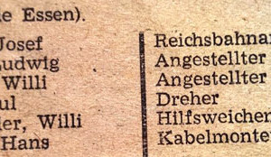 Wahlliste 1948