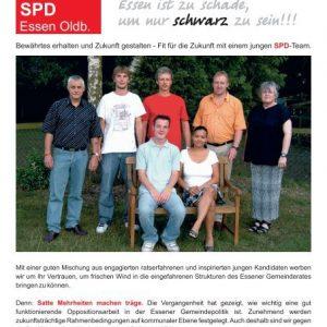 Flyer zur Kommunalwahl 2006